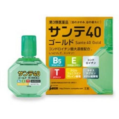 Sante 40 Gold Японские капли для глаз с хондроитином (возрастные профилакти