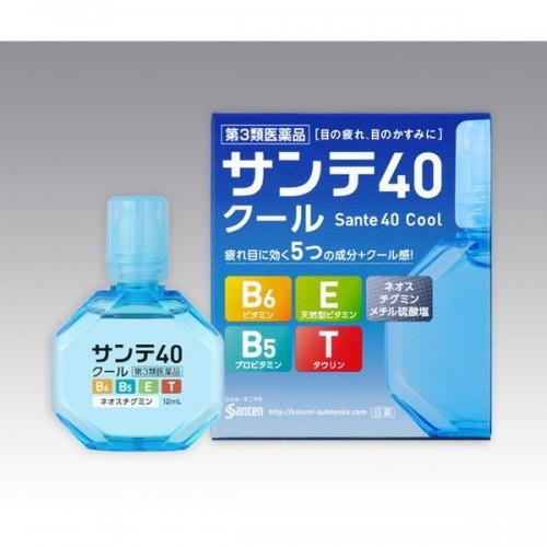 Sante 40 Cool Японские капли для глаз противовозрастные