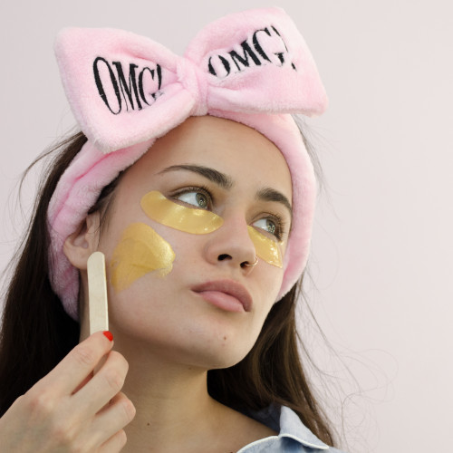 Косметическая повязка для волос OMG