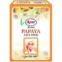 Маска для лица Папайя 25гр, Индия