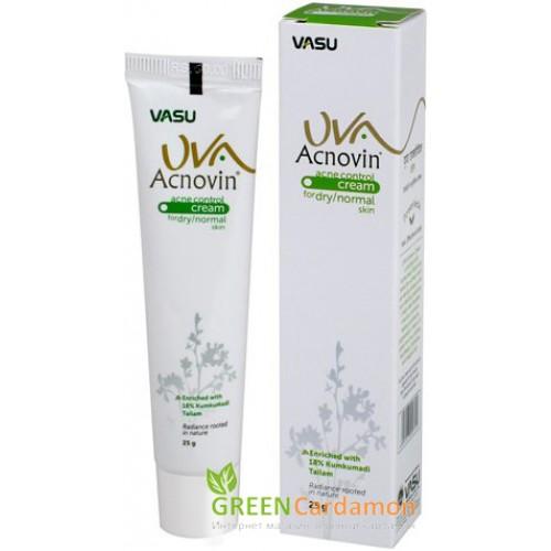 Аюрведический крем ACNOVIN acne control 25мл, Индия
