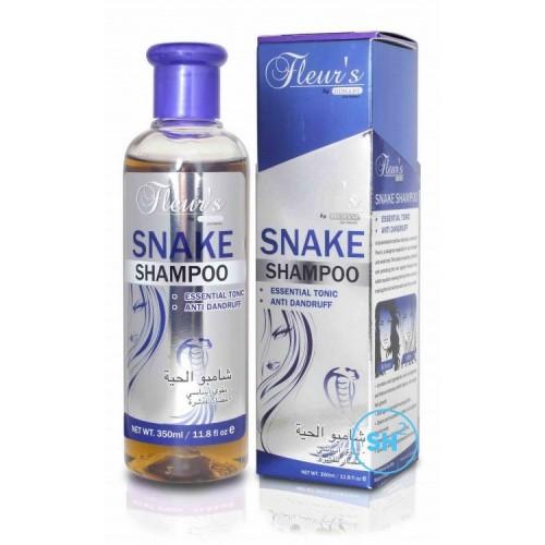 "Шампунь ""Fleurs Snake Shampoo"" на основе жира кобры 350ml, Hemani"