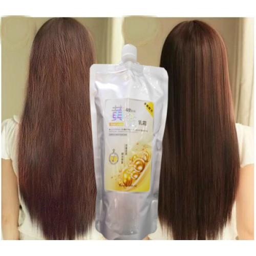 Маска для волос с эффектом кератинового выпрямления 500мл
